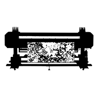 digital printer icon